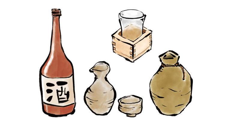 日本酒の酒器にも種類がある?