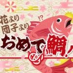 花よりサカナ?!歓送迎会にもぴったりの【桜鯛】でお花見シーズンをもっと楽しもう♪