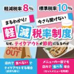 【軽減税率】盛り上がる居酒屋のテイクアウト市場で中食の需要が拡大中?!
