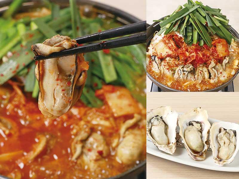 いろんな「牡蠣料理」